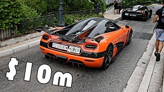 $10 Million Hypercars Turn Up in Monaco!!!