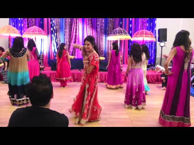 Mehreens Wedding Dances-Girls Side Travel Video