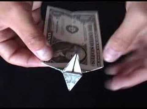 Money Origami Dollar Bill Origami Dog Made From A One Dollar