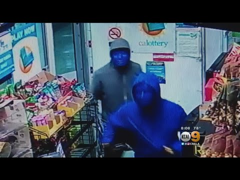 Police In Sunland Hunting For 2 Armed Robbery Suspects