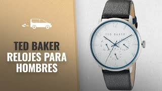 Ted Baker 2018 Mejores Ventas: Ted Baker Mens Classic Collection Custom Multifunction Sub-Eye w/