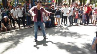 Chain Hang Low freestyle dubstep dance - jibbs - Hoan P.O.B