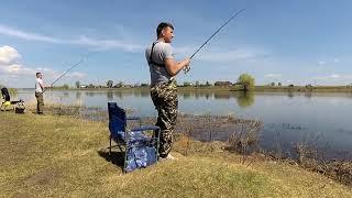 Рыбалка на фидер Белое озеро