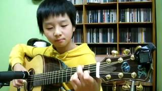 J S Bach) Air on a G String   Sungha Jung Acoustic Tabs Guitar Pro 6