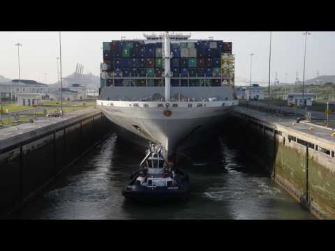 New Record Set For Largest-Capacity Vessel To Transit Expanded Panama Canal