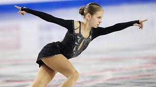 Alexandra Trusova World Junior Championships SP