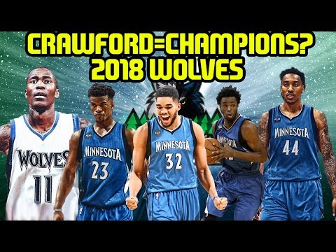 CAN THE 2018 TIMBERWOLVES WIN WITH JAMAL CRAWFORD? SEASON SIMULATION NBA 2K17 MYLEAGUE