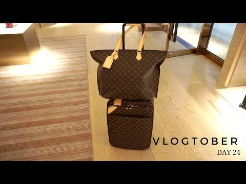 LAST TRIP TO LOUIS VUITTON FOR MY SREYNA | Vlogtober Day 24
