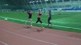 600 метров, Контрольная тренировка спортсменов УОР и СШОР перед выездными стартами