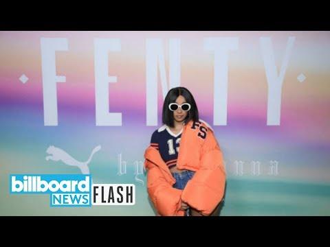 Rihanna Congratulates Cardi B with Fenty Beauty Products | Billboard News Flash