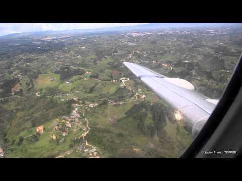 Vuelo Rionegro - Cartagena | Fokker 28 | FAC1041