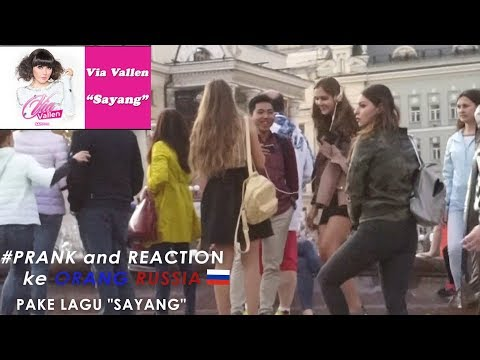 REACTION VIDEO lagu VIA VALLEN(SAYANG)di RUSIA ! #vlog #reaction