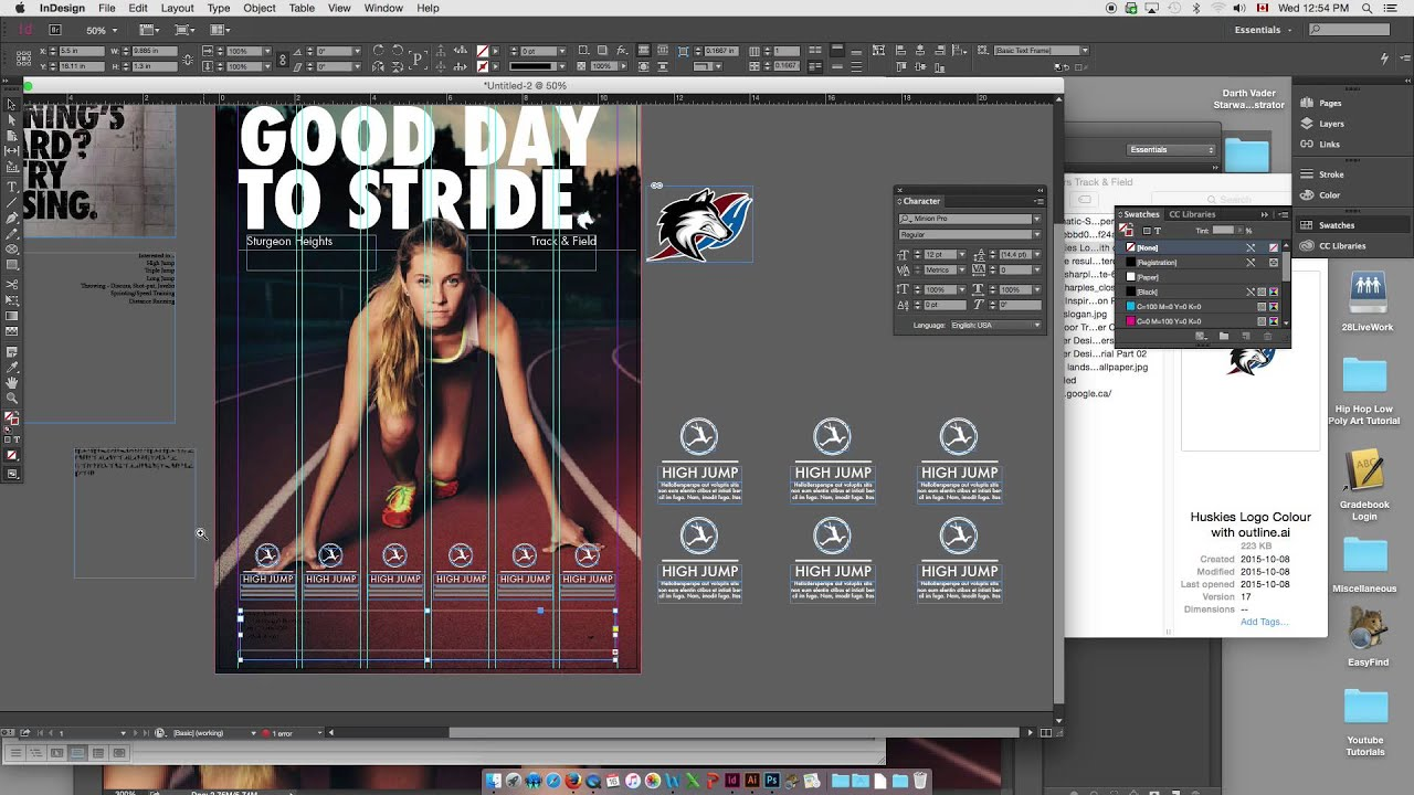 How To Design Poster In Indesign