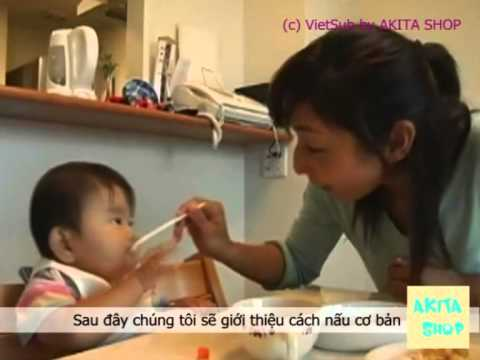 Cách chế biến ăn dặm cho trẻ 9-11 tháng (Phụ đề TV)