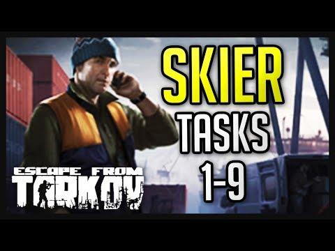 Skier Tasks (1-9) Complete Guide - Escape from Tarkov