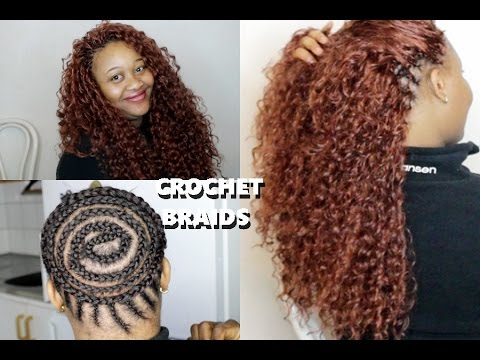 How To do Beautiful Crochet Braids // Ponytail - YouTube