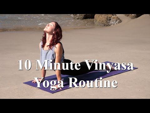 Intermediate Vinyasa Yoga Routine With Syann Stevens