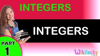 Integers Maths class 1,2,3,4,5,6,7 tricks, shortcuts, online videos cbse ncert puzzles for kids