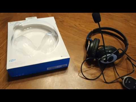 Microsoft LifeChat LX-3000 Noise Cancellation Headset Review - UPDATE! 4/26/17