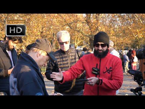 P3 - Going Ape on Evolution!? Suboor Vs Phil (Atheist)   Speakers Corner   Hyde Park