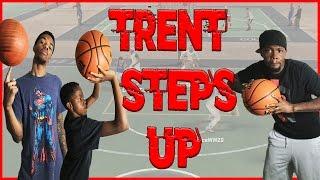 NBA 2K16 MyPark Gameplay ft. Trent - TRENT STEPS UP!!