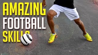 AMAZING FOOTBALL SKILLS TO TRICK YOUR DEFENDER! 💯 2018 2019