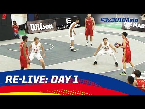 Re-Live - Malaysia Day 1 - 2016 FIBA 3x3 U18 Asian Championships