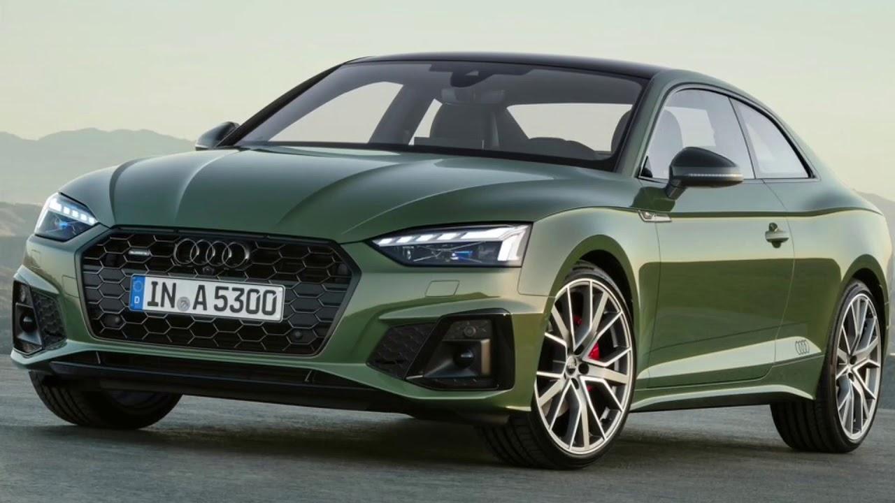 2020 Audi A5 Coupe Concept
