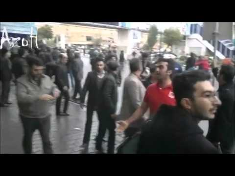 قیام تبریز: درگیری تن به تن با یگان ویژه؛ شجاعت بینظیر زنان تورک در اعتراضات؛ فرار نیروهای امنیتی