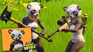 FORTNITE-NEW LEGENDARY SKIN (the PANDA BEAR) very EPIC!