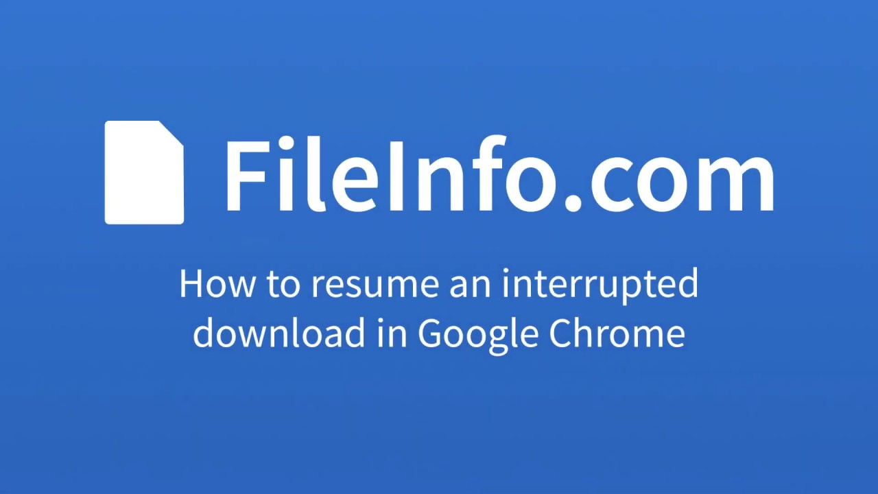 how to pause and resume download in google chrome