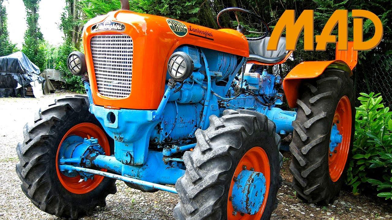 trattori lamborghini nella storia, tra eleganza e perfezione