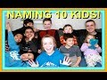 ADOPTED & BIOLOGICAL: STORY BEHIND OUR KIDS NAMES!