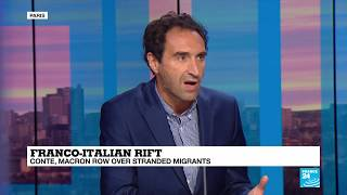 Migration crisis: 'Italy has been left alone'