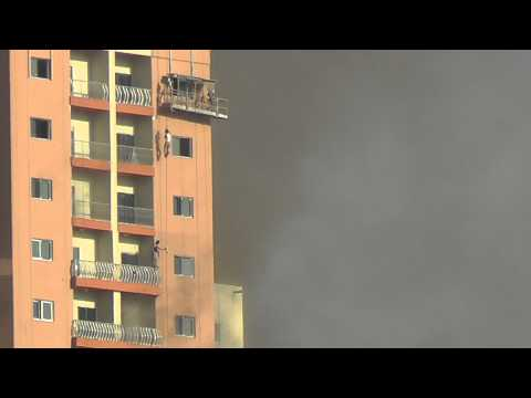 Fire in Jumeirah Village Triangle