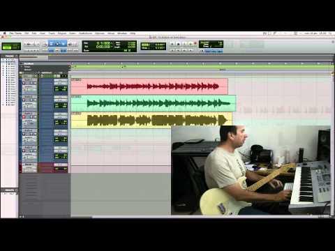 Grabando Guitarras en Pro tools