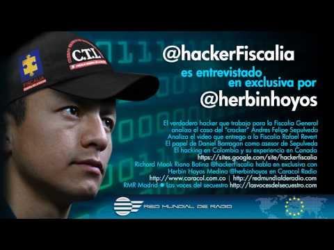 """@hackerFiscalia habla sobre el """"cracker"""" Sepulveda"""