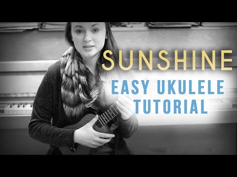 Sunshine -  Blanca EASY Ukulele tutorial