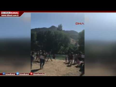 Pülümür Çayı'nda terör saldırısı şoku yaşadılar