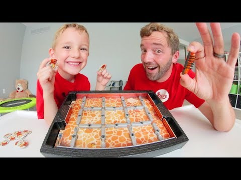 Father & Son PLAY BUGS IN THE KITCHEN!