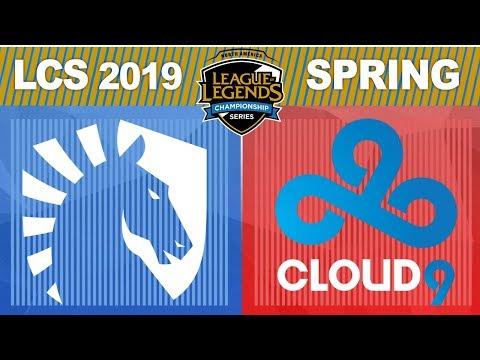 TL vs C9 - LCS 2019 Spring Split W1D1 - Liquid vs Cloud9