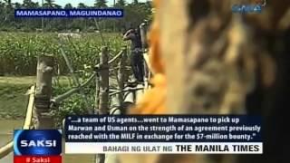 Saksi: May koneksyon ang Amerika at MILF sa pagdakip kay Marwan, ayon sa ulat ng The Manila Times