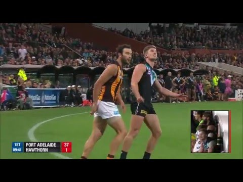 Top 10 goals for 2015 - Port Adelaide