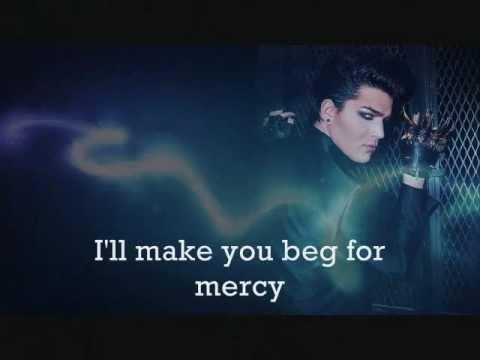 Music video Adam Lambert - Beg For Mercy