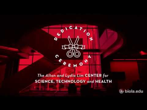 Dedication of the Alton and Lydia Lim Center for Science, Technology and Health