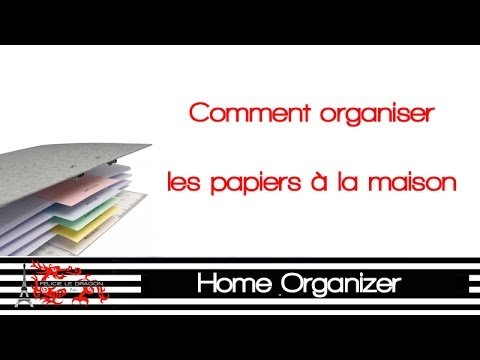 Comment ranger ses papiers youtube - Comment ranger ses placards ...