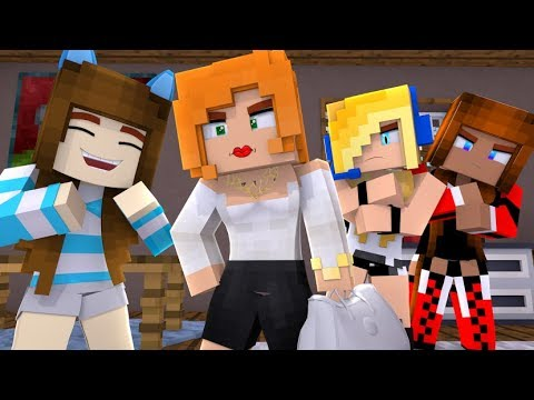 Minecraft /Psycho Girl Show #7 ★ Aunt Sour *Minecraft Video Roleplay*
