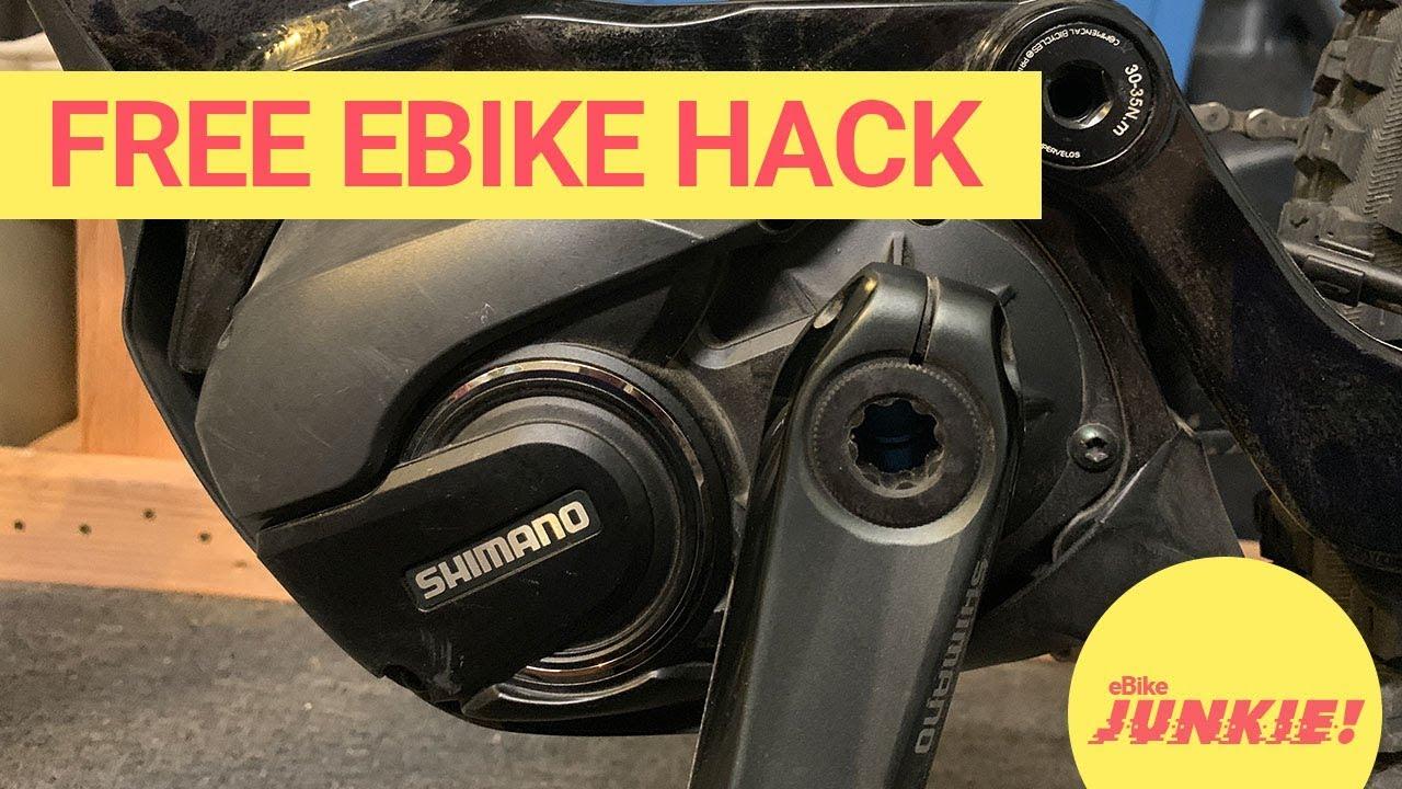 De restricting shimano E8000 - EMTB Forums