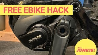 How to hack / derestrict your ebike for free