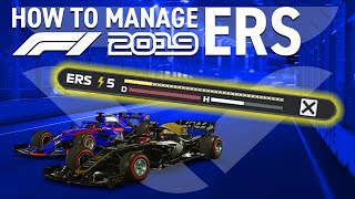 5 EASY TIPS to MANAGE ERS on F1 2019!